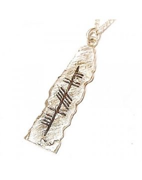 personalised-ogham-pendant-claddagh-ring