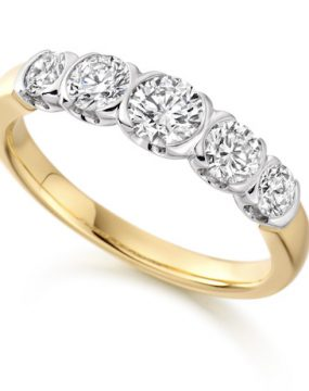 5-stone-diamond-ring