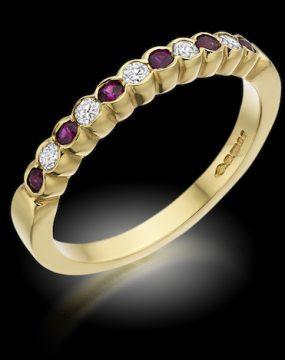 gem stone ring