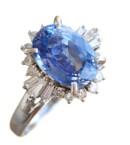 Sapphire-diamond-ring